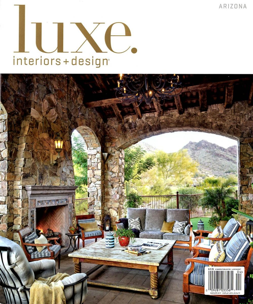 LUXE MAGAZINEARIZONAMARCH/APRIL 2019COVER